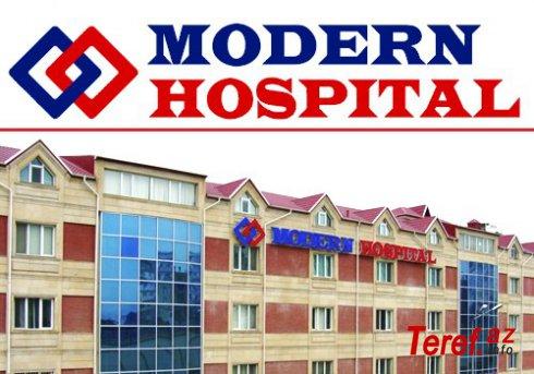 """""""Qatil klinika"""" adı qazanan """"Modern Hospital"""":"""