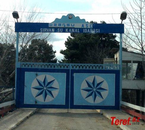Şirvan Su-Kanal idarəsində qalmaqal........