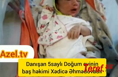 Bərbad səhiyyəmiz: 5 saylı doğum evində həkim səhlənkarlığı.. VİDEO