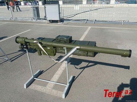 """Ordumuzda olan, 3000 metr məsafədə helikopteri məhv edən """"İqla S"""" raket kompleksi"""