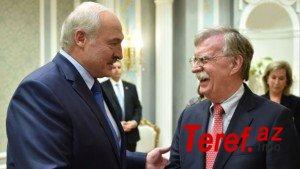 Belorus prezidenti ABŞ-la münasibətlərə yenidən baxmağı təklif edib