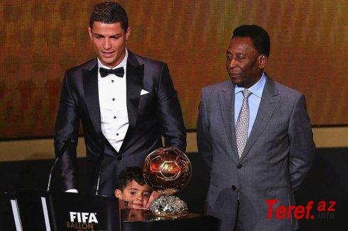"""""""Ronaldo dünyanın ən yaxşısıdır"""" - Pele"""