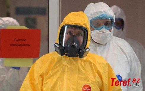 Putin koronaviruslu xəstələrə belə baş çəkdi - Foto