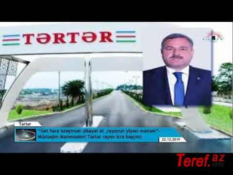 """Tərtər sakinləri İlham Əliyevə müraciət etdilər: """" Bizi bu zülmdən qurtarın.."""" VİDEO"""