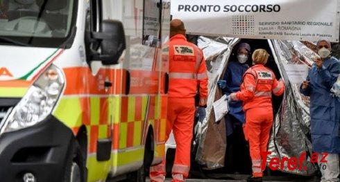 İtaliyada son bir gündə 919 nəfər koronavirusdan öldü