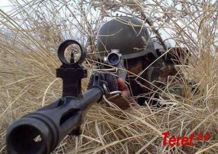 Əskərlərimiz erməni snayper Arsen Alixanyanı ağır yaraladılar....
