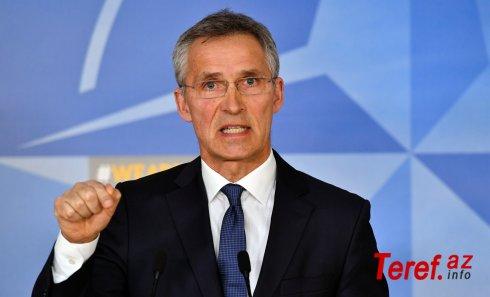 """NATO baş katibi: """"Gürcüstanla tərəfdaşlığı dərinləşdirəcəyik"""""""