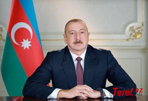 İlham Əliyev tibbi maska istehsalı müəssisəsinin açılışını etdi
