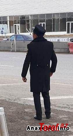 """""""Ekologiya postu""""ndakı kapitan Hacıdan nazirə şikayət: """"Deyir ki, şirinliyi"""" verməsən..."""" - Foto"""