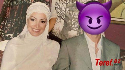 Nura 1 ay evli qaldığı ərinin fotosunu belə paylaşdı