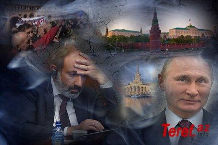 Paşinyan çətin durumda- Kreml dəstəkdən imtina edir/Şərh