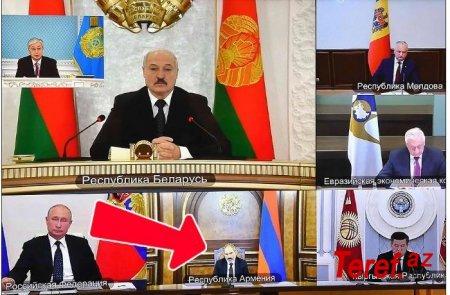 Putin Paşinyana sərt cavab verdi -