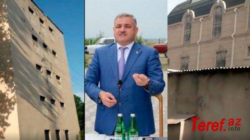 İcra başçısı liseyin pəncərələrini hördürdü: Villasının həyəti göründüyü üçün - SENSASİYA