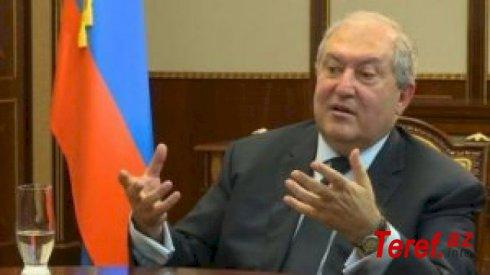 """""""Ermənistan Azərbaycana təkcə döyüş meydanında uduzmayıb..."""" -  Armen Sarkisyan"""