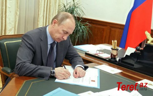Putin Qarabağla bağlı BMT və ÜST-ə müraciət etdi