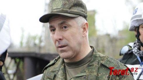 Rusiya sülhməramlılarının komandanından Qarabağla bağll AÇIQLAMA