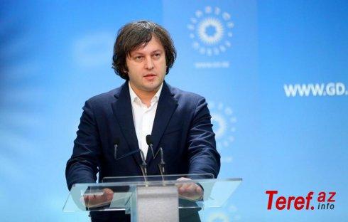 """Kobaxidze: """"""""Gürcü Arzusu""""nun 17 namizədi deputat mandatı qazandı"""""""