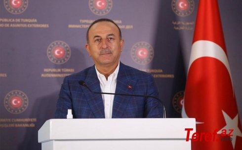 Çavuşoğludan növbəti Qarabağ mesajı: