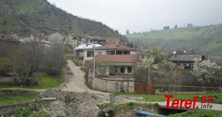 Ermənilər Çərəktar kəndinə od vurub çıxdılar, indi isə deyirlər ki, kənd onlarda qalır