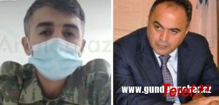 Goranboy İcra başçısı tənqiddən nəticə çıxardıb yaralı əskərin evinə yardım göndərdi- 50 manat......