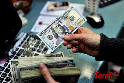 Mərkəzi Bankın valyuta ehtiyatları azalıb, nağd pul dövriyyəsi isə artıb