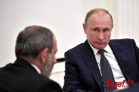 Paşinyan bir saatda iki dəfə Putinə zəng edərək onunla Qarabağı müzakirə edib