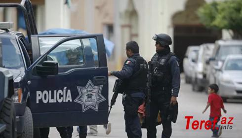 Meksikada silahlı hücum nəticəsində 2 nəfər ölüb, 16 nəfər yaralanıb