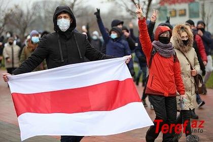 Belarusda etiraz aksiyaları: