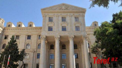XİN-dən Ermənistanın xarici işlər nazirinin açıqlamalarına CAVAB