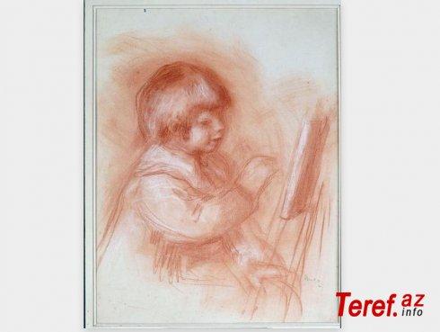 Renuarın rəsm əsəri 1,18 milyon dollara satıldı