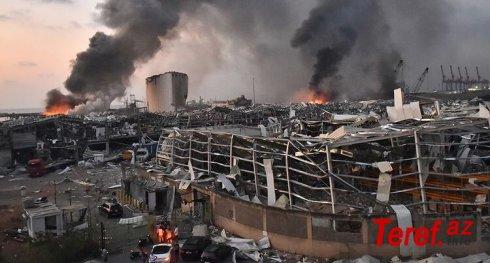 Beyrutdakı partlayışa görə iki Rusiya vətəndaşı axtarışa verildi