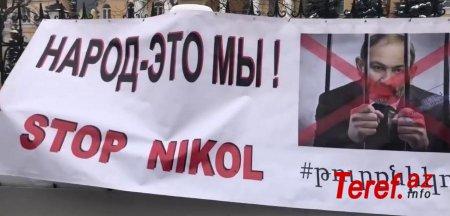 """Rusiya erməniləri Putinə """"savaş açdılar"""" - FOTO"""