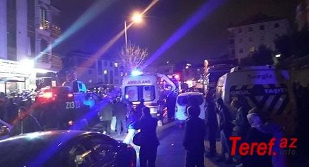 İstanbulda helikopter qəzaya uğradı