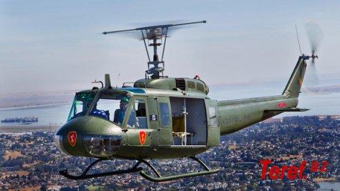 Filippinə məxsus hərbi helikopter qəzaya uğradı