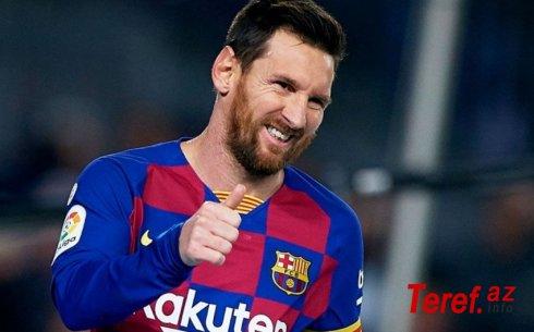 """Messi """"Barselona""""da qalmağı istəyir"""
