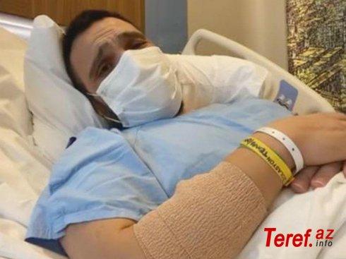 Koronavirusa yoluxan aparıcı ağlayaraq VİDEO çəkib paylaşdı