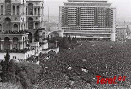 20 yanvar - Sovet İttifaqının Bakıda öldüyü gün