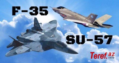 F-35, yoxsa Su-57? Test pilotu təkbətək savaşda hansının qalib gələcəyini söylədi