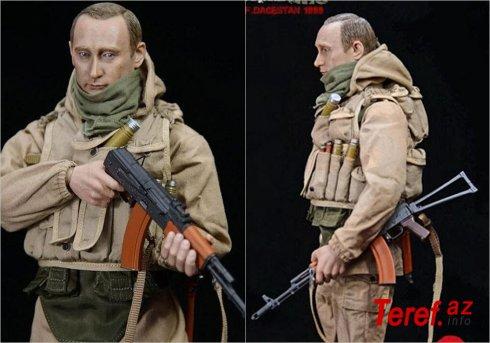 ABŞ-da Putinə bənzəyən xüsusi təyinatlı oyuncağı satışa çıxarılıb - FOTO