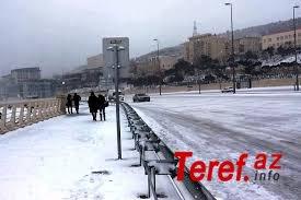Azərbaycanda buz bağlayan əsas magistral yolların siyahısı açıqlandı - SİYAHI