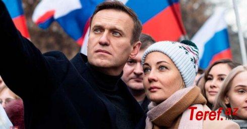 Navalnının həyat yoldaşı azadlığa buraxıldı