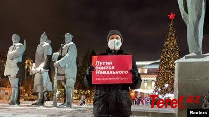 Rusiyada etirazlar: