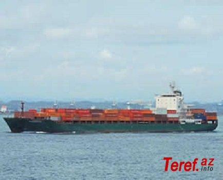 Qaçırılan türk gəmisi Qabona doğru hərəkət edir
