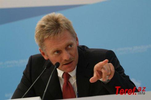 """""""İcazəsiz aksiyalarda çox sayda vətəndaş iştirak etməyib"""" – Peskov"""