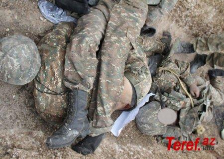 Daha iki erməni hərbçisinin meyiti tapıldı