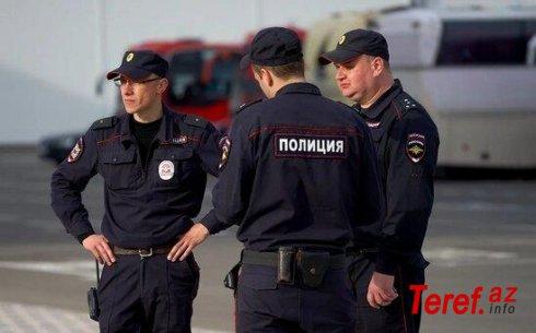 Futbolçu polisi döydü- RUSİYADA