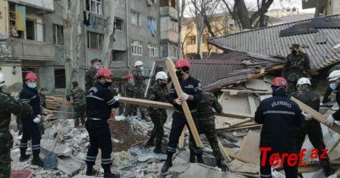 Xırdalanda partlayış - Axtarış-xilasetmə əməliyyatı sona çatdırıldı - 2 nəfərin cəsədi çıxarıldı