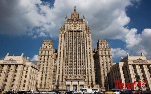 Rusiya XİN ABŞ-a etiraz notası verib