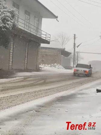 Qarlı yollarda avtoxuliqanlıq edənlər saxlanıldı - FOTO