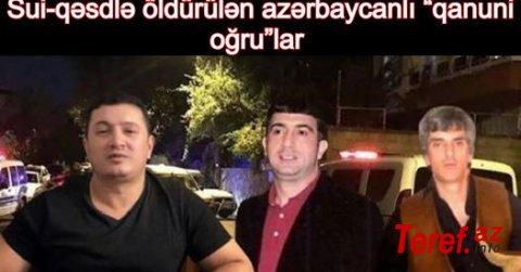 Sui qəsd ilə öldürülən Azərbaycanlı Lotular - VIDEO